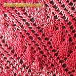 leaf design knitting pattern Branches