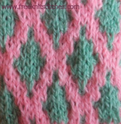 Gauze knitting stitches