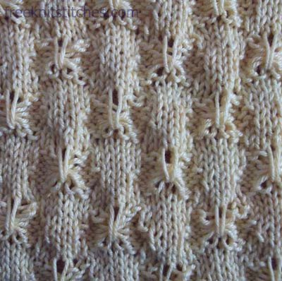 knit cable stitches Tick