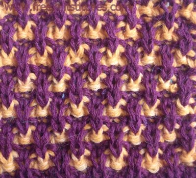 knitting knit stitch Spray