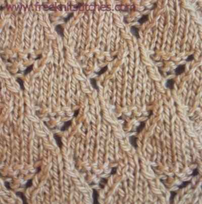 lace patterns knitting Gallery