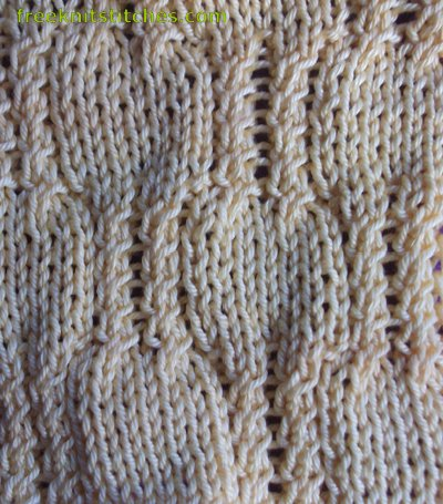 scarf knitting stitches Big Snakes