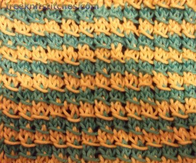 Vermicelli knitting stitches