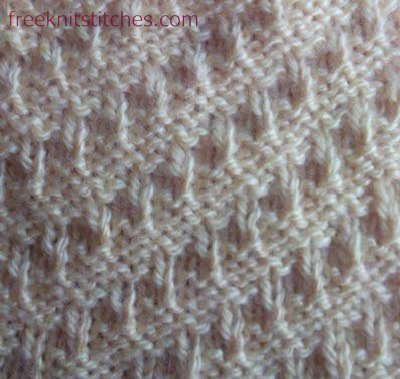 Knit And Purl Patterns Free Jaggies