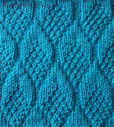 KNIT PATTERN STITCHES 1000 Free Patterns